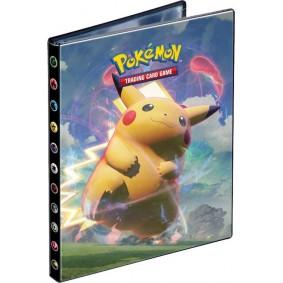 Portfolio 4 Cases pour 80 Cartes - Pokemon - Eb04 Voltage Éclatant Pikachu