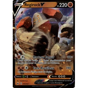 Regirock V - Ultra Rare 104/202 EB01 Epée et Bouclier Epees et Bouclier 4 : Voltage Eclatant EB04