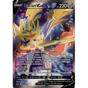 Zacian V - Full Art Ultra Rare 195/202 EB01 Epée et Bouclier Epees et Bouclier 4 : Voltage Eclatant EB04