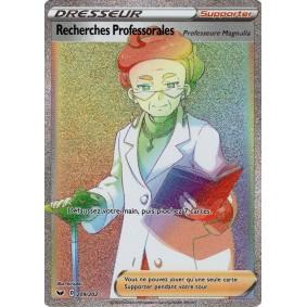 Recherches Professorales Professeur Magnolia - Secret Rare 209/202 EB01 Epée et Bouclier Epees et Bouclier 4 : Voltage Eclatant