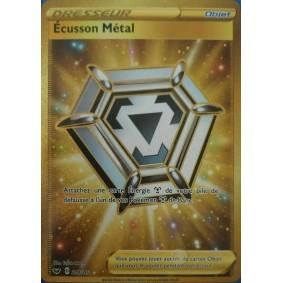 Écusson Métal - Secret Rare 214/202 EB01 Epée et Bouclier Epees et Bouclier 4 : Voltage Eclatant EB04
