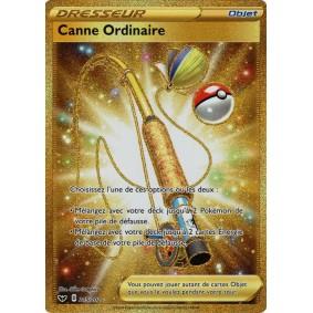 Canne Ordinaire - Secret Rare 215/202 EB01 Epée et Bouclier Epees et Bouclier 4 : Voltage Eclatant EB04