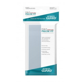 Ultimate Guard Precise-Fit Japanese Size Small Resealable