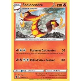 Scolocendre - Holo Rare 10/73 EB3. Epée et Bouclier 3.5 : La Voie du Maître Epees et Bouclier 3.5 : La Voie du Maitre EB03.5