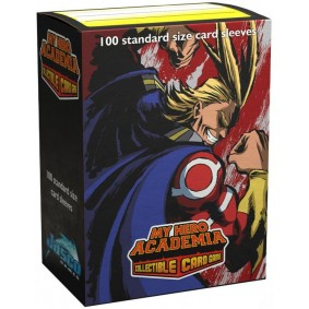 "Dragon Shield-Art Sleeves ""My Hero Academia - All Might Flex"""