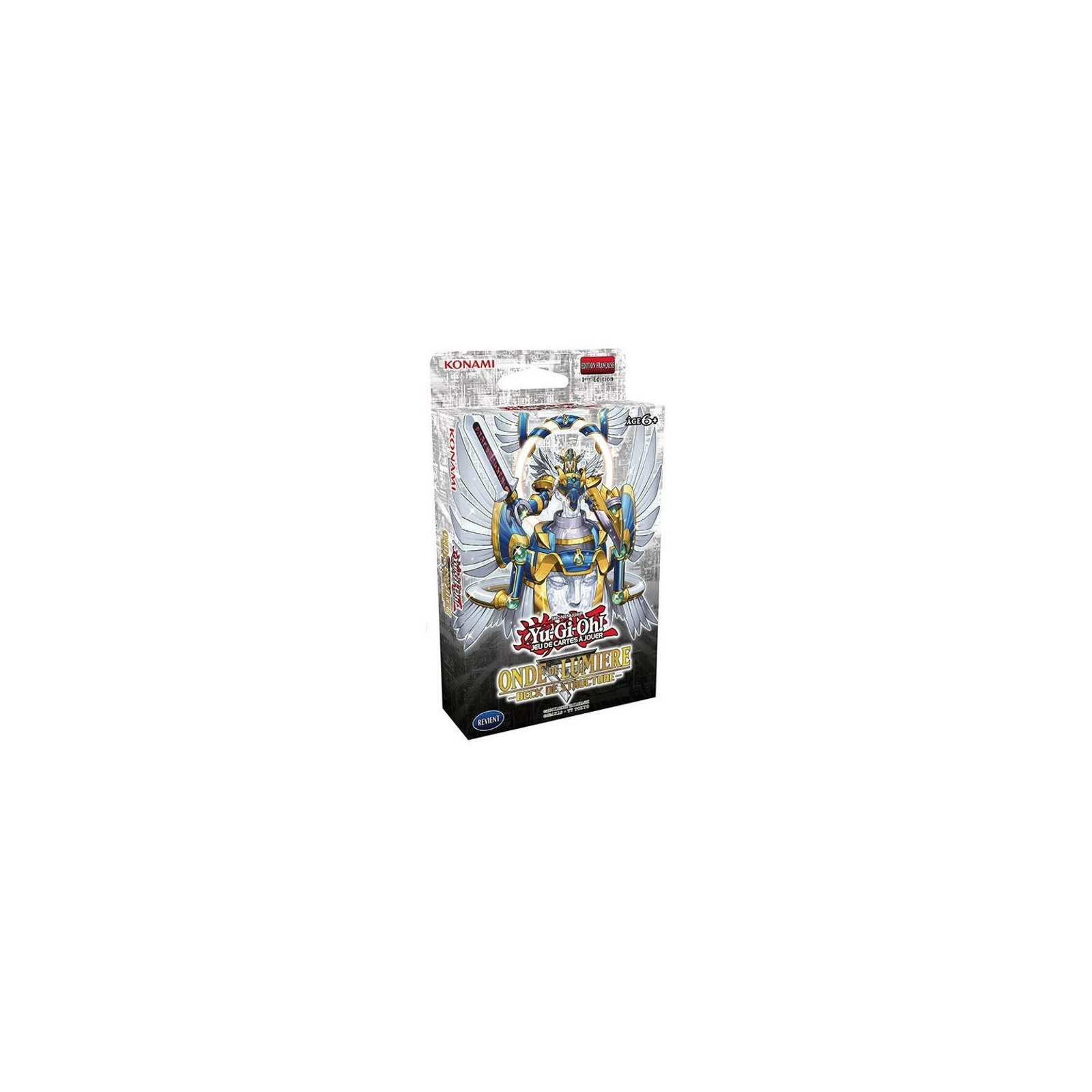 Yu-Gi-Oh - Deck de Structure - Onde de lumière - FR - 1er Edition
