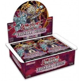 Yu-Gi-Oh! - Display - Boite de 36 Boosters - Legendary Duelists : Rage of Ra - Anglais