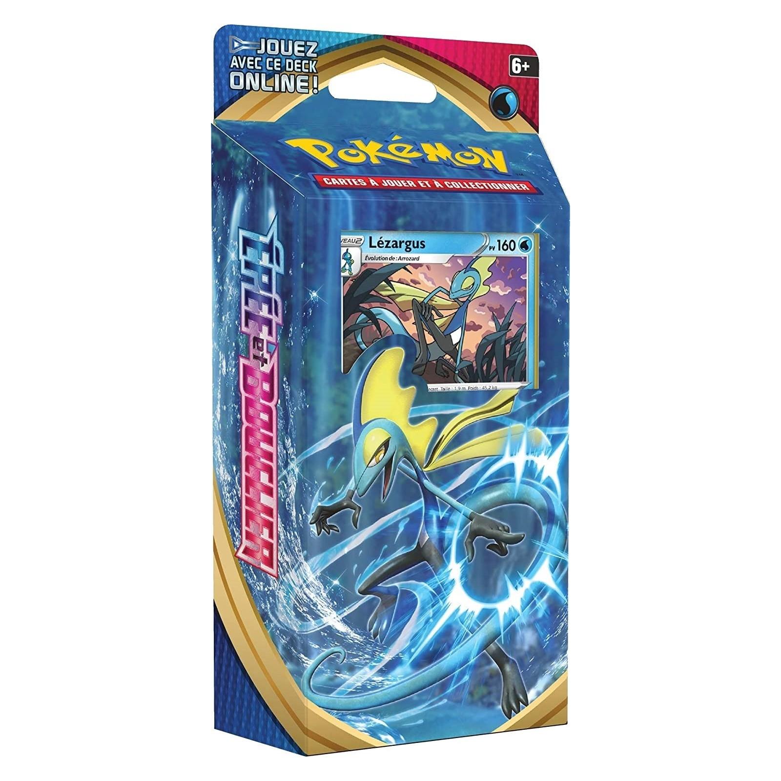 Pokémon - Deck de Démarrage - Lézargus - Épée et Bouclier [EB01] - FR