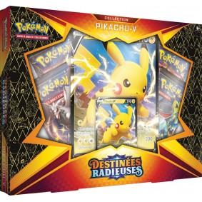 Pokémon - Coffret Pikachu V - Destinées Radieuses EB 4.5 FR
