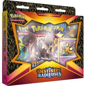 Pokémon - Coffret Pin's Dedenne - Destinées Radieuses EB 4.5 FR