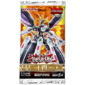 Yu-Gi-Oh! - Booster - Les Flammes de la Destruction - FR
