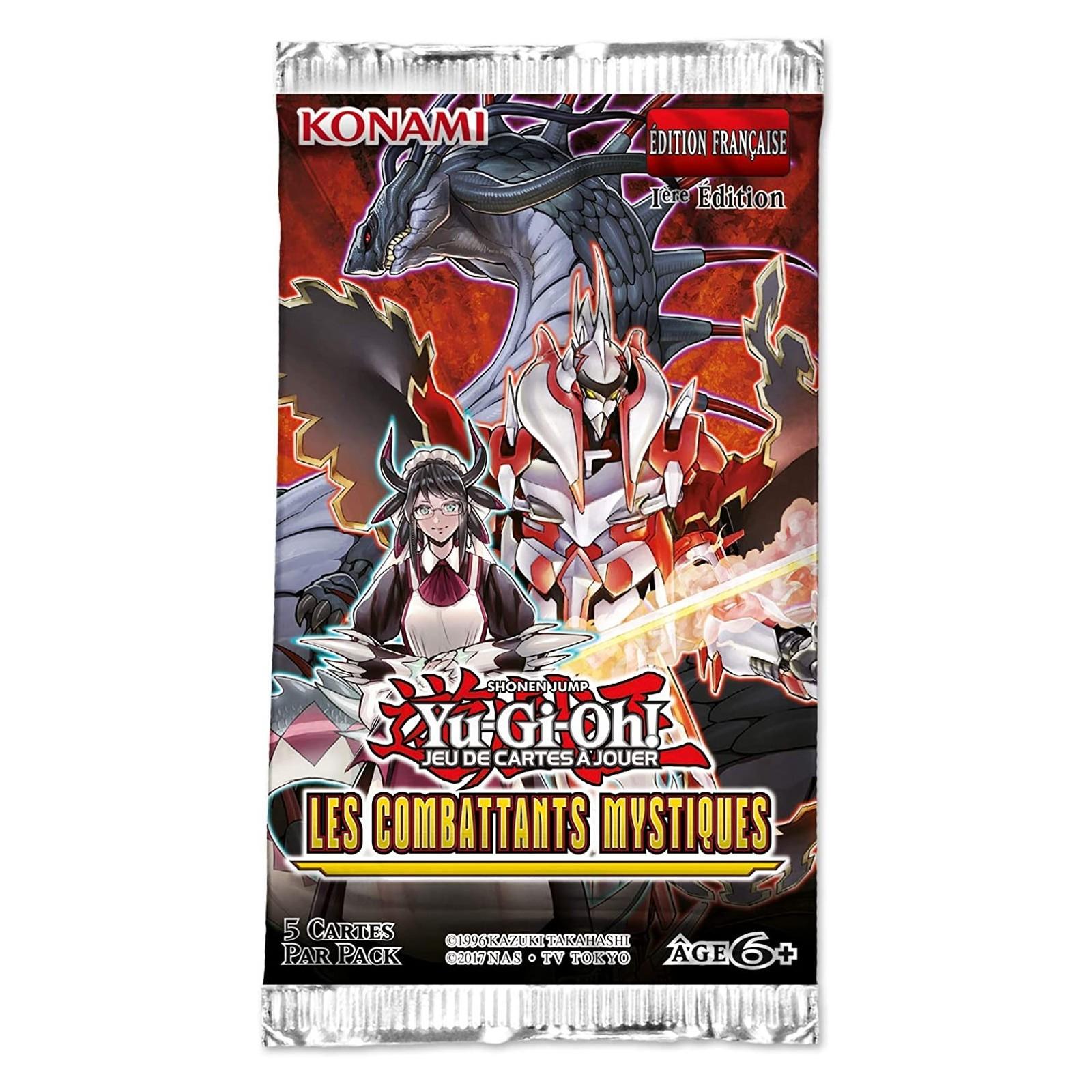 Yu-Gi-Oh! - Booster - Les Combattants Mystiques - FR