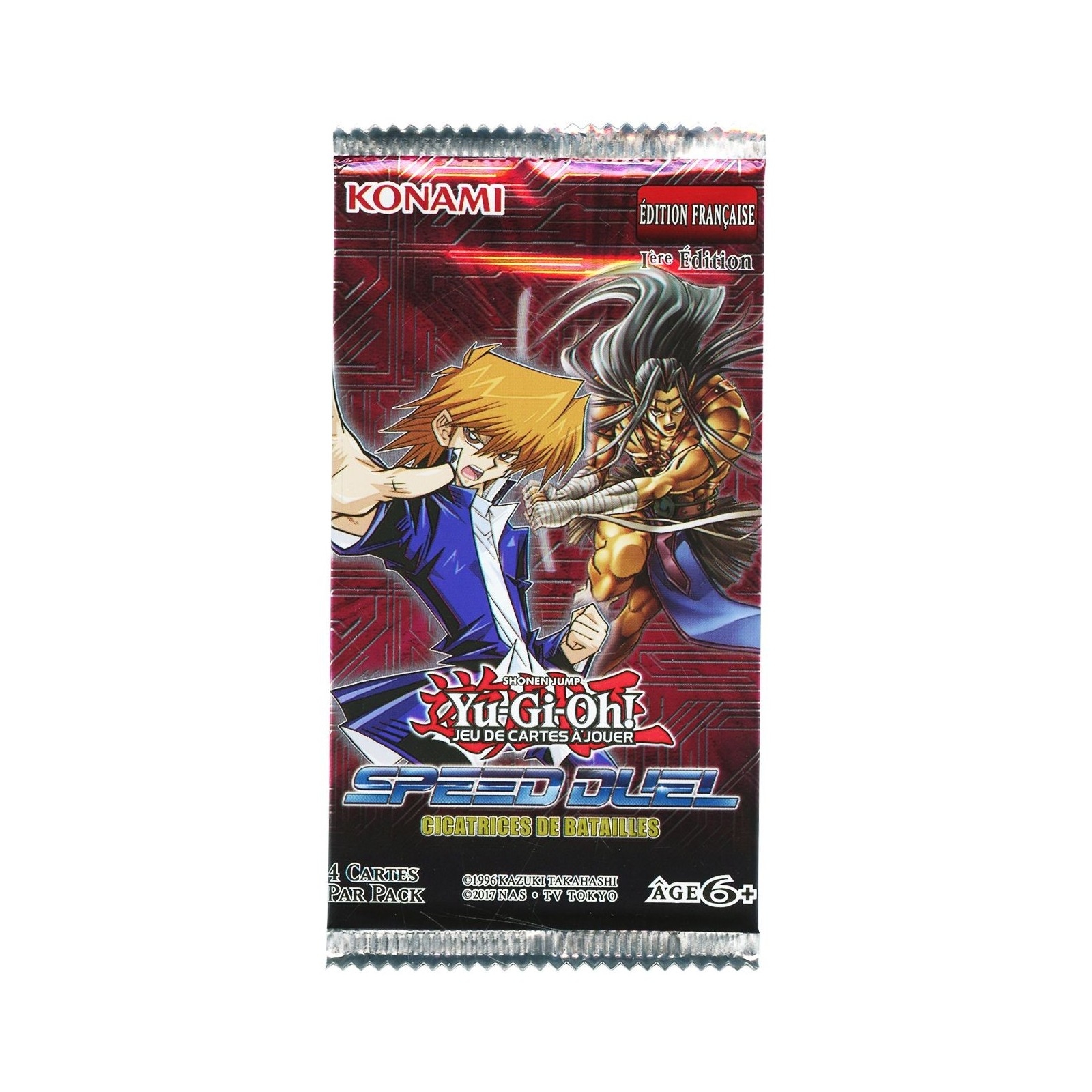 Yu-Gi-Oh! - Booster Speed Duel - Cicatrices de Batailles - FR