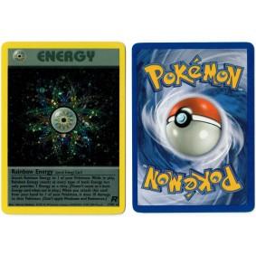 Rainbow Energy 17/82 Team Rocket Holo Unlimited Anglais Voir Scan Pokémon - Team Rocket