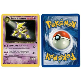 Dark Alakazam 18/82 Team Rocket Rare Unlimited Anglais Voir Scan Pokémon - Team Rocket