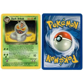 Dark Arbok 19/82 Team Rocket Rare Unlimited Anglais Voir Scan Pokémon - Team Rocket