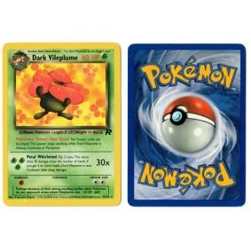 Dark Vileplume 30/82 Team Rocket Rare Unlimited Anglais Voir Scan Pokémon - Team Rocket