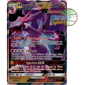 Mandrillon GX - Ultra Rare 160/236 - Soleil et Lune 11 Harmonie des Esprits Soleil et Lune 11 Harmonie des Esprits