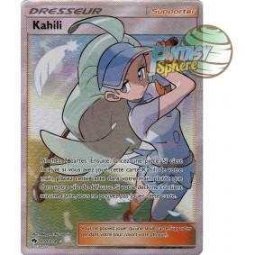 Kahili - Full Art Ultra Rare  210/214 - Soleil et Lune 8 Tonnerre Perdu Soleil et Lune 8 Tonnerre Perdu