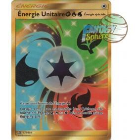 Énergie Unitaire - Secret Rare 170/156 - Soleil et Lune 5 Ultra Prisme Soleil et Lune 5 Ultra Prisme