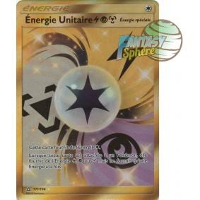 Énergie Unitaire - Secret Rare 171/156 - Soleil et Lune 5 Ultra Prisme Soleil et Lune 5 Ultra Prisme