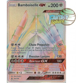 Bamboiselle GX - Secret Rare 162/156 - Soleil et Lune 5 Ultra Prisme Soleil et Lune 5 Ultra Prisme