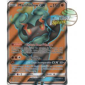 Marshadow GX - Full Art Ultra Rare  137/147 - Soleil et Lune 3 Ombres Ardentes Soleil et Lune 3 Ombres Ardentes