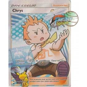 Chry-chry - Full Art Ultra Rare  146/147 - Soleil et Lune 3 Ombres Ardentes Soleil et Lune 3 Ombres Ardentes