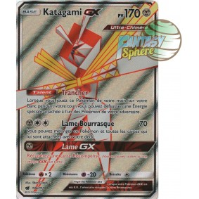 Katagami GX - Full Art Ultra Rare  106/111 - Soleil et Lune 4 Invasion Carmin Soleil et Lune 4 Invasion Carmin