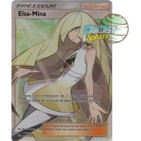 Elsa-Mina - Full Art Ultra Rare  110/111 - Soleil et Lune 4 Invasion Carmin Soleil et Lune 4 Invasion Carmin