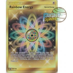 Énergie Multicolore - Secret Rare 183/168 - Soleil et Lune 7 Tempête Céleste Soleil et Lune 7 Tempête Céleste