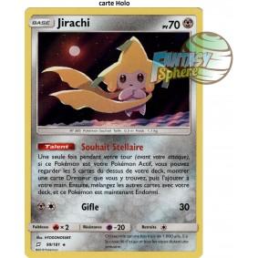 Jirachi - Holo Rare 99/181 - Soleil et Lune 9 Duo de Choc
