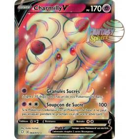 Charmilly V - Full Art Ultra Rare 064/072 - Epee et Bouclier Destinées Radieuses
