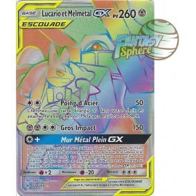 Lucario et Melmetal GX - Secret Rare 224/214 - Soleil et Lune 10 Alliance Infaillible