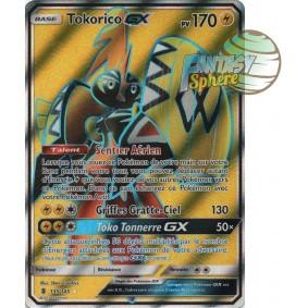 Tokorico GX - Full Art Ultra Rare  135/145 - Soleil et Lune 2 Gardiens Ascendants