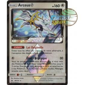 Arceus - Prisme Rare 96/131 - Soleil et Lune 6 Lumière Interdite