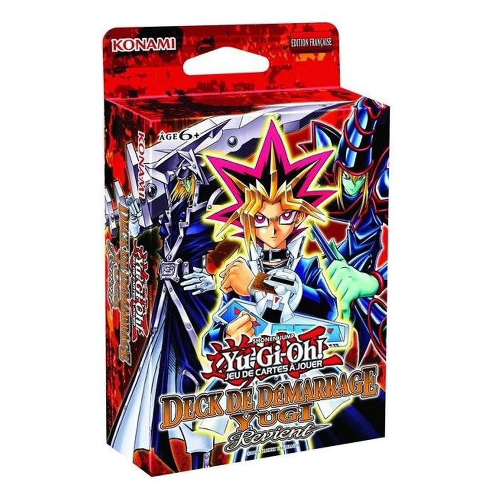 Yu-Gi-Oh! - Deck de Démarrage - Yugi Revient - FR - Réédition