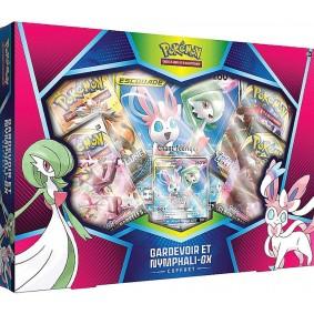 Pokémon - Coffret - Gardevoir & Nymphali Escouade GX - FR