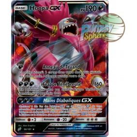 Hoopa GX - Ultra Rare 96/181 - Soleil et Lune 9 Duo de Choc
