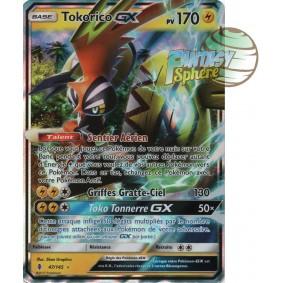 Tokorico GX - Ultra Rare 47/145 - Soleil et Lune 2 Gardiens Ascendants