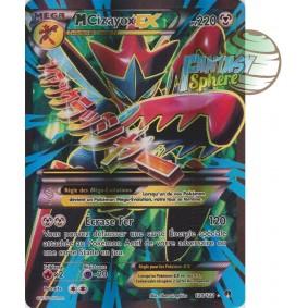 Méga Cizayox EX - Full Art Ultra Rare  120/122 - XY 9 Rupture TURBO