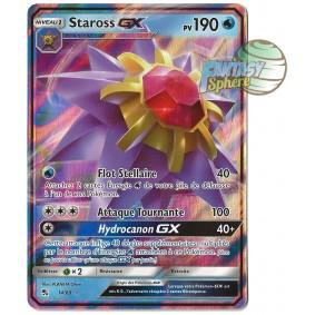 Staross GX - Ultra Rare 14/68 - Soleil et Lune 11.5 Destinees Occultes