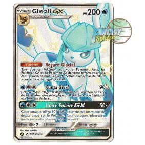 Givrali GX - Full Art Ultra Rare SV55/SV94 - Soleil et Lune 11.5 Destinees Occultes