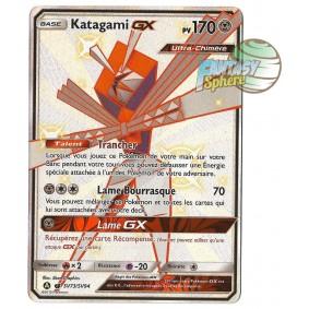 Katagami GX - Full Art Ultra Rare SV73/SV94 - Soleil et Lune 11.5 Destinees Occultes