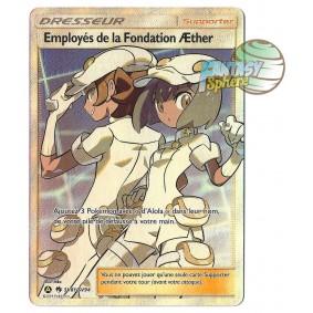 Employés de la Fondation Æther - Full Art Ultra Rare SV81/SV94 - Soleil et Lune 11.5 Destinees Occultes