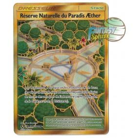 Réserve Naturelle du Paradis Æther - Full Art Ultra Rare SV87/SV94 - Soleil et Lune 11.5 Destinees Occultes