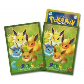 Proteges Cartes - Standard - Pokemon - Evee & Evolution (64)