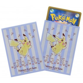 Proteges Cartes - Standard - Pokemon - Pikachu - Flowers in Full Bloom (64)