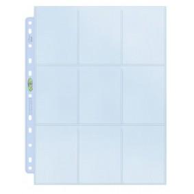 UP - 10 Pages de Classeur - 9 Cases - Silver
