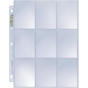 UP - 10 Pages de Classeur - 9 Cases - Platinum